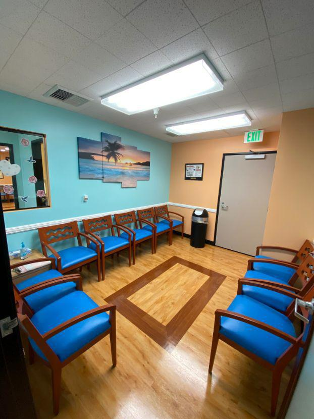 Separate Sick Side Waiting Room